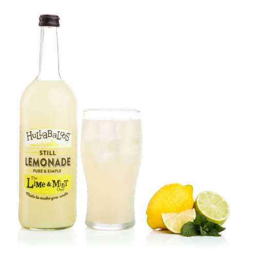Hullabaloos Lemonade Lime & Mint 6 x 750ml bottles