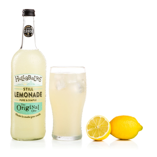 Hullabaloos Lemonade Original 6 x 750ml bottles