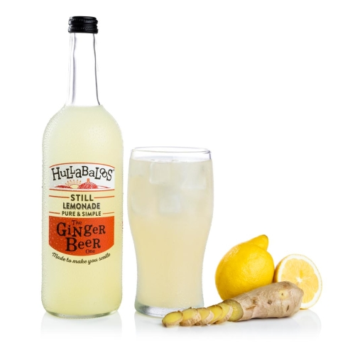 Hullabaloos Lemonade Ginger Beer 6 x 750ml bottles