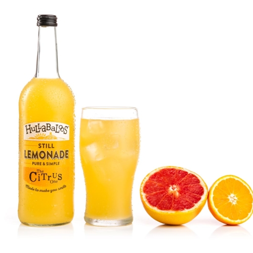 Hullabaloos Lemonade Citrus 6 x 750ml bottles