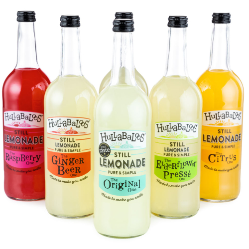 Hullabaloos Lemonade mixed case of 6 x 750ml bottles