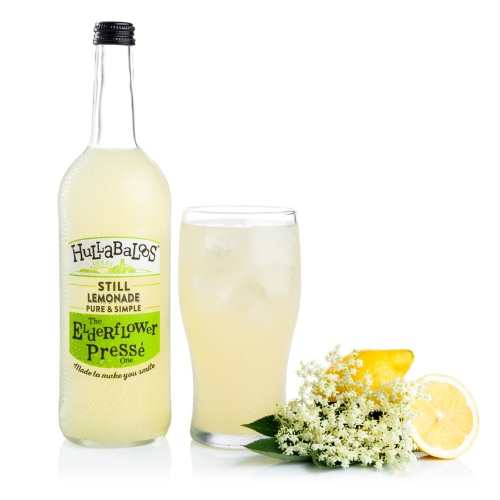 Hullabaloos Lemonade Elderflower Presse 6 x 750ml bottles