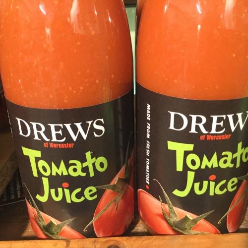 Drew's tomato juice