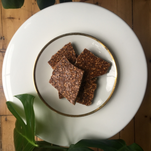 Hazelnut, Cinnamon, and Vanilla Brittle
