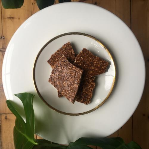 Hazelnut, Cinnamon, and Vanilla Brittle