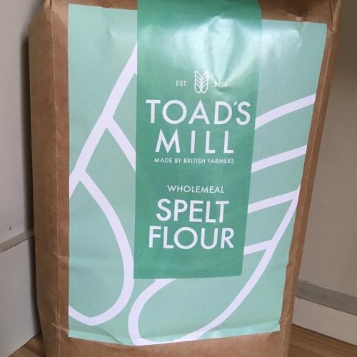 British Grown 1.5kg Wholemeal Spelt Flour