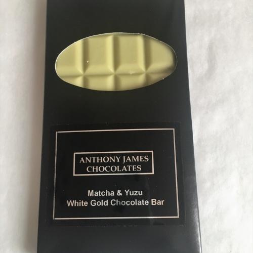 Matcha & Yuzu White Gold Chocolate Bar 100g- Single Origin Madagascar 45%