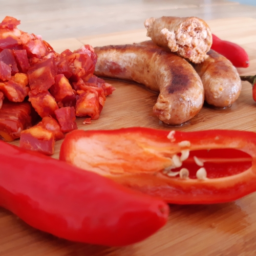 Chilli Chorizo free range chicken Sausages