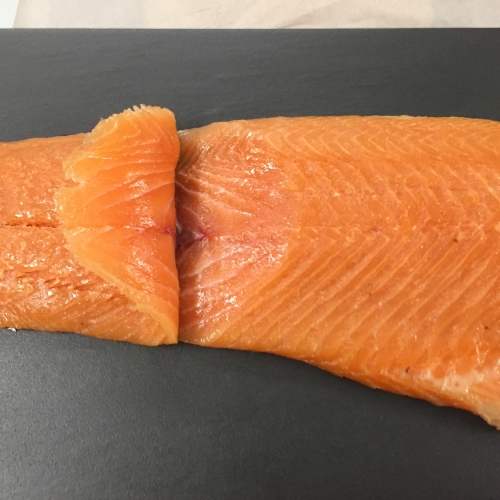 Traditional Smoked Salmon 200g Vacuum Packed D Sliced.