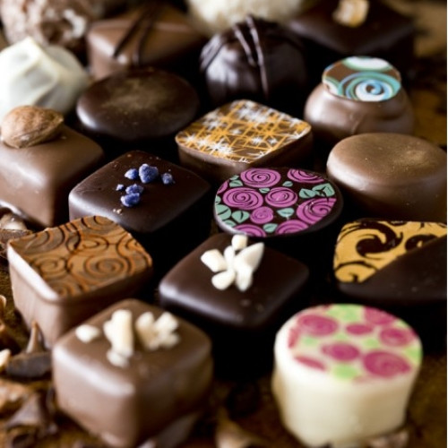 Box of 18 Handmade Chocolates
