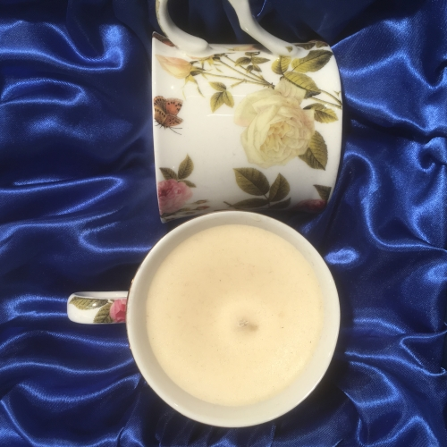 Scented Soy candles in Chintz fine bone china cups