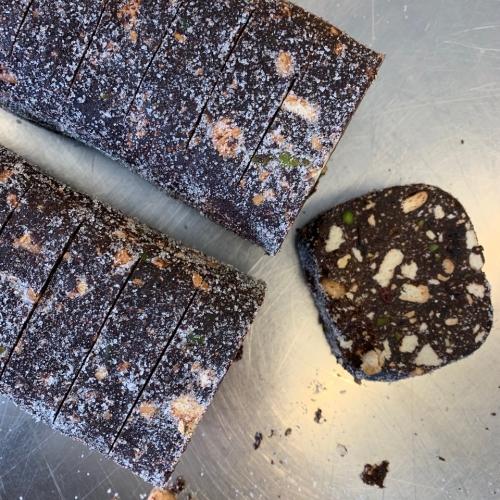 Dark Chocolate Salami