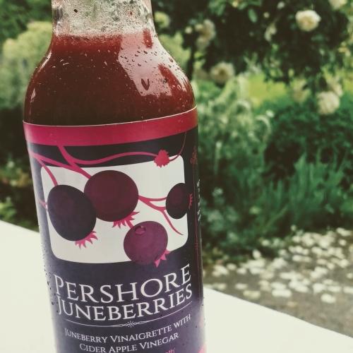 Juneberry Vinaigrette with Cider Apple Vinegar