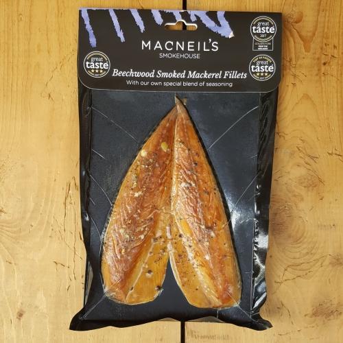 Beechwood Smoked Mackerel Fillets
