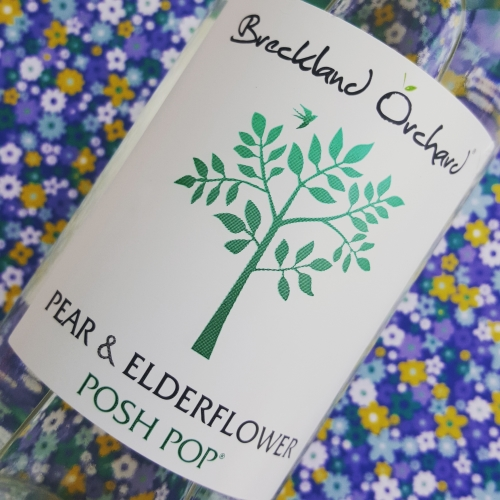 Pear & Elderflower Posh Pop by Breckland Orchard