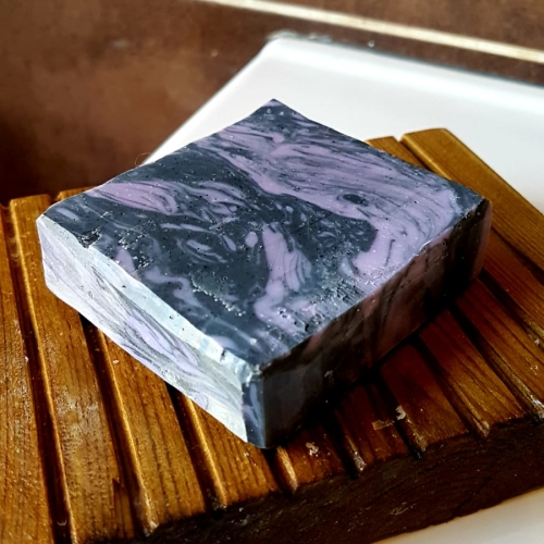 HANDMADE CHARCOAL & LAVENDER  CP SOAP Available In 110 g