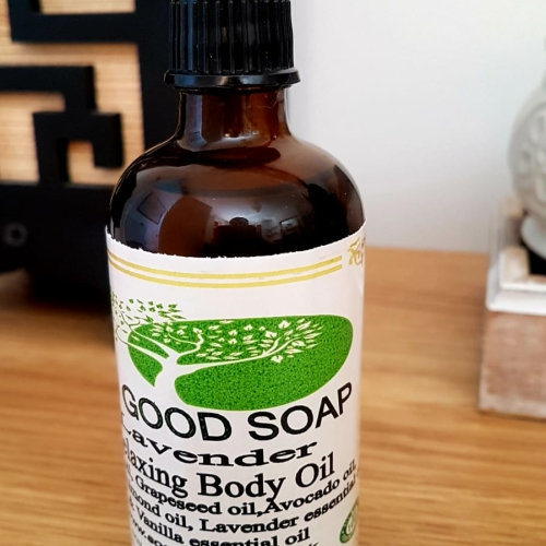 ALL NATURAL Relaxing Body Oil Lavender  100 ml