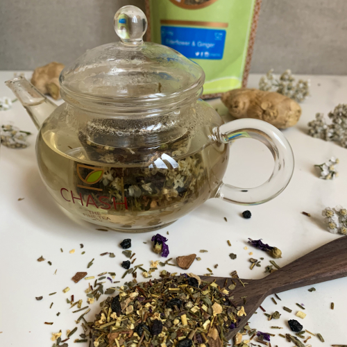 Elderflower & Ginger – Tea Pouches