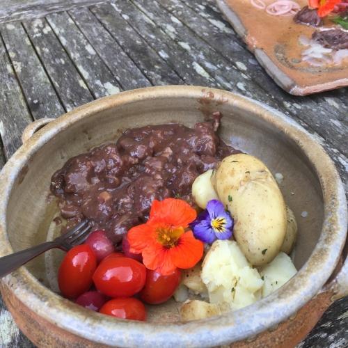Taffety diced Steak