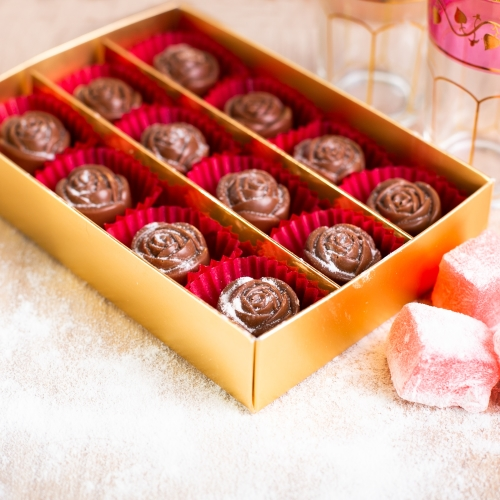 Turkish Rose Milk Chocolates