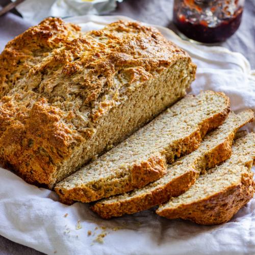 Soda Bread Baking