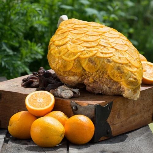 3kg Cooked Orange Ham off the bone