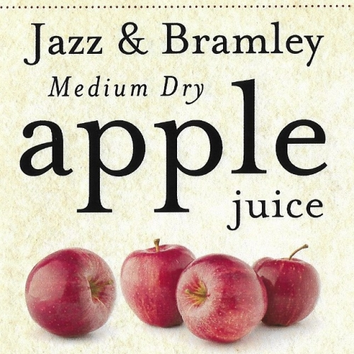 Bentleys Jazz and Bramley apple juice