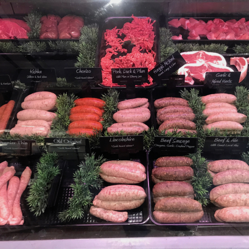 Lincolnshire Pork Sausage