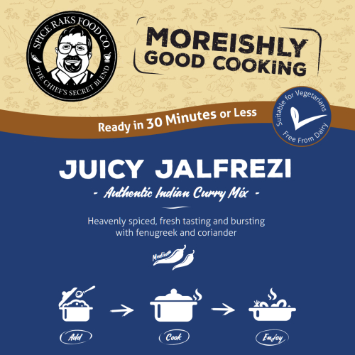 Chief's Juicy Jalfrezi Curry Sauce Kit ( Dry Mix )
