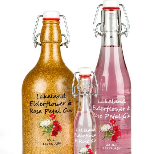 Lakeland Elderflower & Rose Gin Liqueur