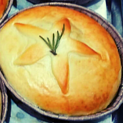 Russian Lamb, Apricot & Chestnut Gourmet Pie