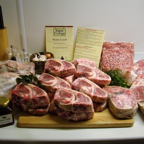 Welsh Lamb - 100% Grass Fed