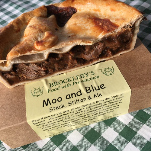 Moo & Blue Pie (Steak, Stilton & Ale)