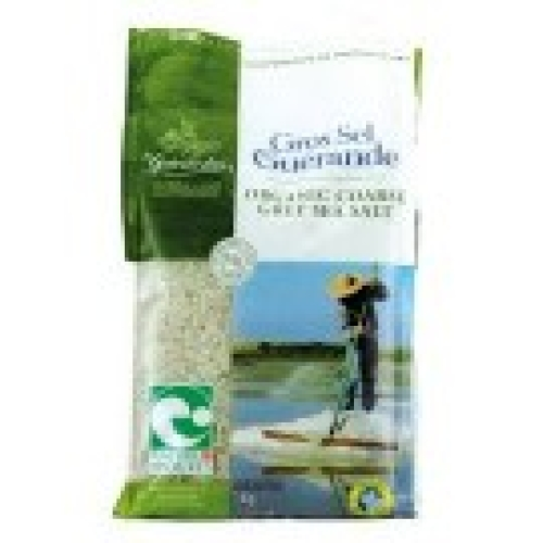 Organic Unrefined Le Guérande Celtic Sea Salt - Coarse