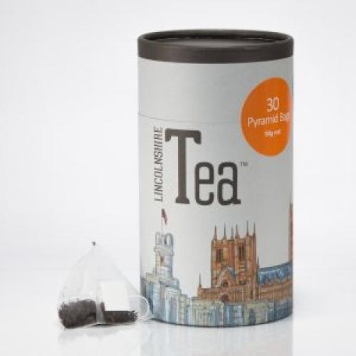 Lincolnshire Tea Tube 30 'Silky' Pyramid Bags