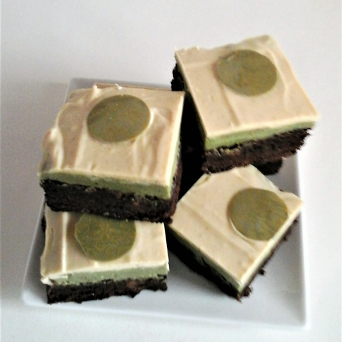 Luxury Matcha & Yuzu Truffle Brownies ( Large Box of 6)