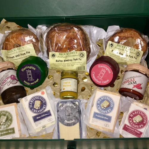 Luxury Cheese and Pie Hamper