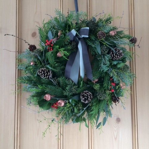 Christmas Wreath Making Workshop 1st December 2018