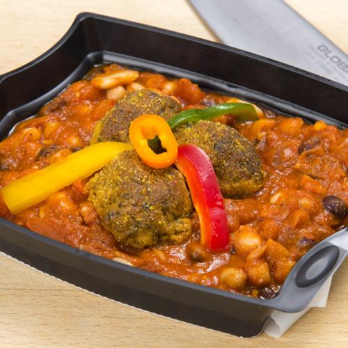 Bean & Tomato Ragout (vegetarian)