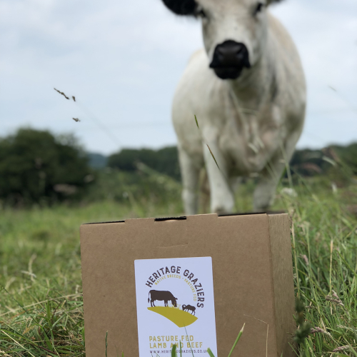 Grass fed, family beef box