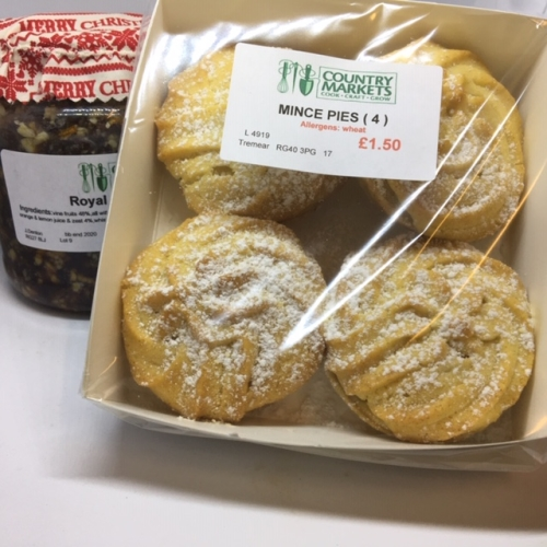 Mince Pies with Viennese Topping