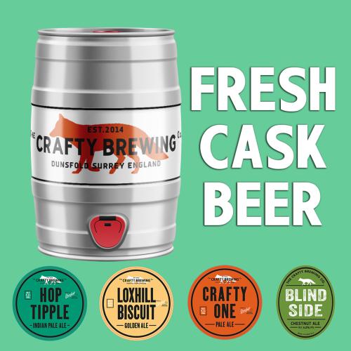 Fresh Craft Ales in 5L Mini-Kegs