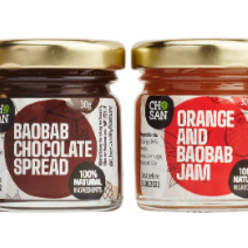Baobab taster mini jams selection