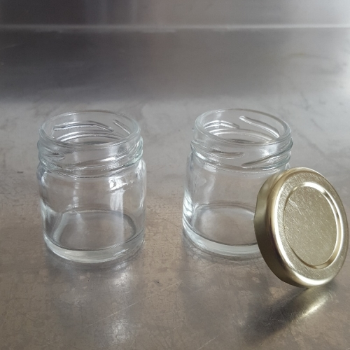 mini jam jar 43mm lid