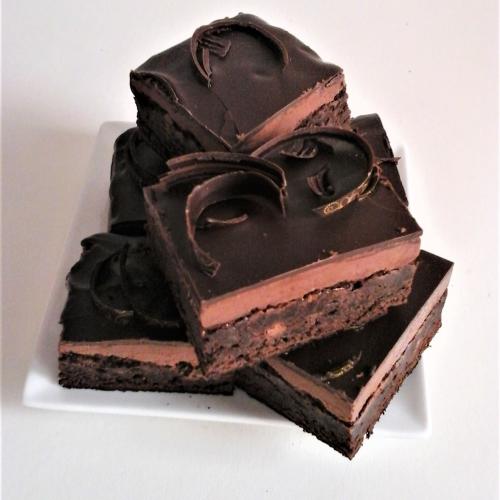 Luxury Matcha & Yuzu Truffle Brownies ( Large Box of 6)