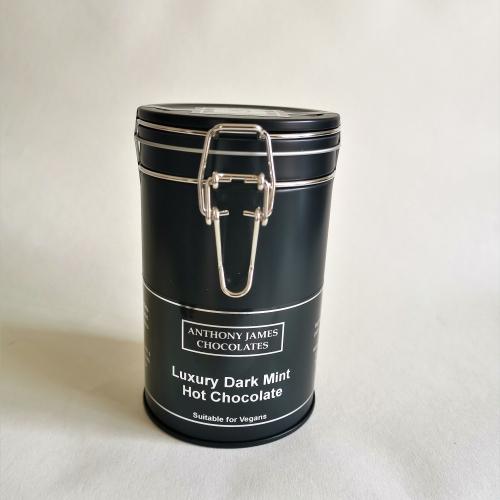 Luxury Dark Mint Hot Chocolate 250g - Suitable for Vegan
