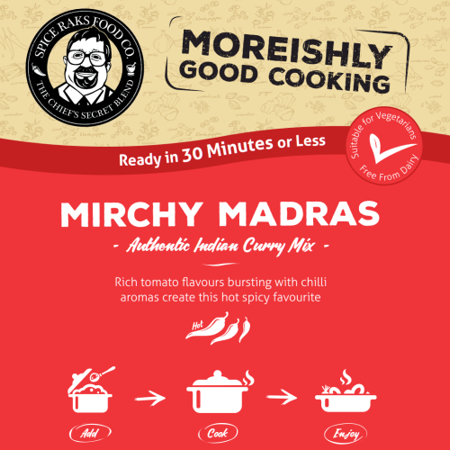 Chief's Mirchy Madras Curry Sauce Kit ( Dry Mix )