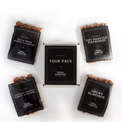 Fire Roast 4 Pack Nuts