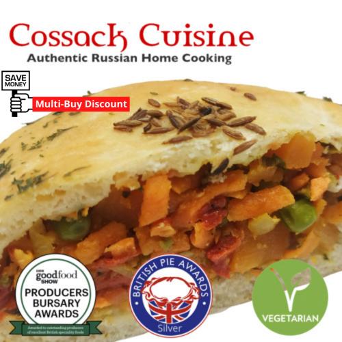 🌿 Moroccan Veggie Piewich®  (v) (Pies) (multi-buy)