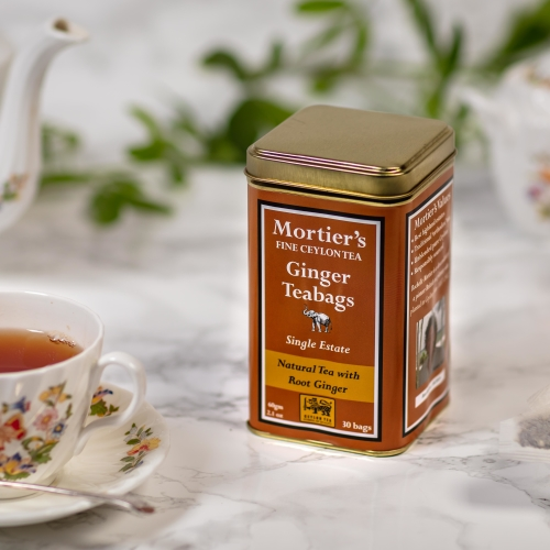 30 GINGER TEA BAGS - TOP QUALITY TEA DIRECT FROM ESTATE